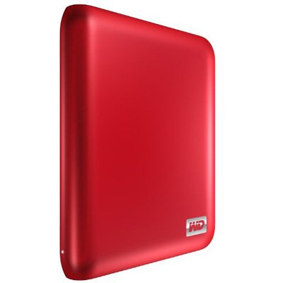 Western Digital My Passport Essential SE 1 TB USB 3.0/2.0 Ultra Portable External Hard Drive (Metallic Red)