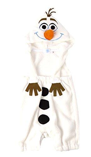 (ディズニー)Disney なりきり着ぐるみ吊りパンツ/サリー/オラフ/チップ【y5714】 95cm オラフ