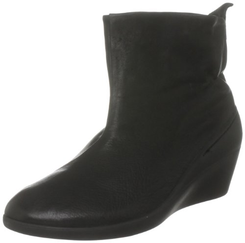 Softinos Women's Nele Black Wedges Boots P900091057 8 UK