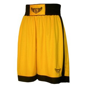 Hatton Junior Boxing Club Shorts - Gold, Youth.