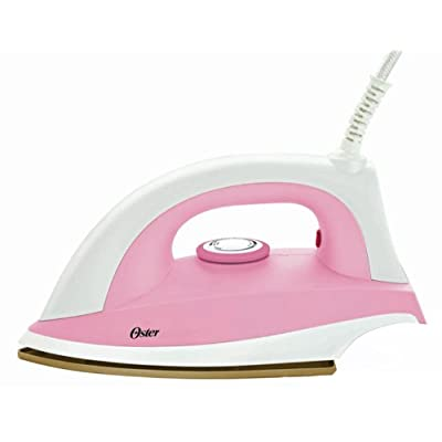 Oster GCSTDR2010 1000-Watt Plastic Body Dry Iron (Pink)