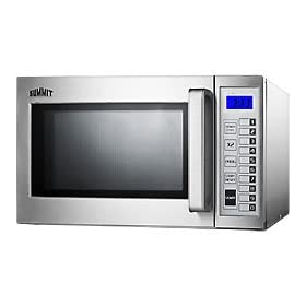 Summit Commercial Microwave Oven - 1000 Watt - Stainless Steel