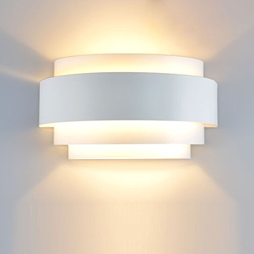 Modern Minimalist Fashion Creative Led Intelligent Voice Switch Bedroom Bedside Carved Wall Lamp