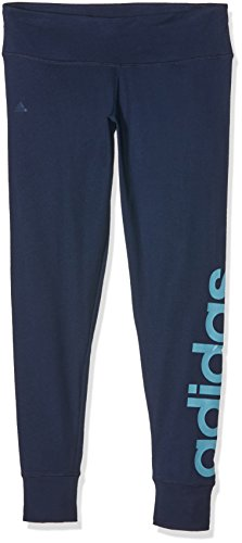 Adidas Ess Linear Collant, Blu (Maruni/Azuvap), S