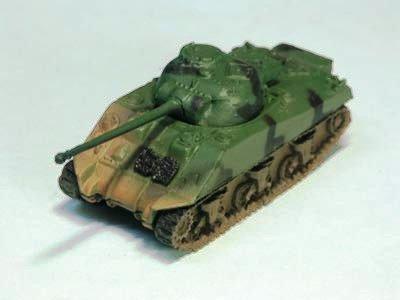 イギリス軍 ファイアフライ 中戦車  二色迷彩(グリーン・ブラック)