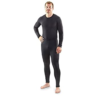 Men's 32 Degrees Heat by Weatherproof Performance Base-layer Bottoms, BLACK, M