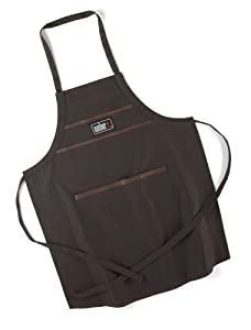 Weber Style 18902 Barbecue Apron, Brown (Discontinued by Manufacturer)