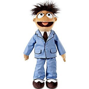 Disney 17 Inch Walter Plush - The Muppets Plush Toys