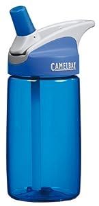 CamelBak 0.4-Liter Kids Bottle, Blue/Blue