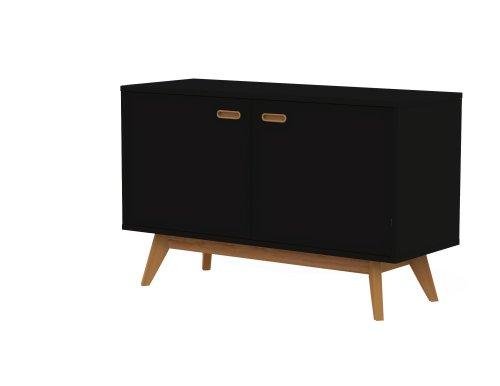 Designer Sideboard, schwarz