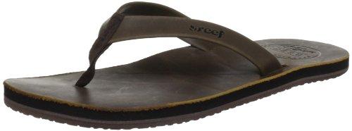 Reef Women'S Girls Skinny Leather Flip Flop Sandal,Brown,9 M Us front-993552