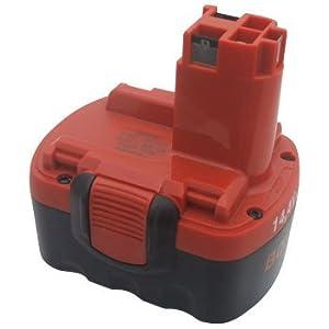 【クリックで詳細表示】BOSCH(ボッシュ) 14.4V2.4Ahニカドバッテリー[2607335678]: DIY・工具