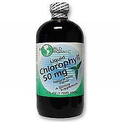 World Organic Liquid Chlorophyll 50 mg Mint - 16 fl oz