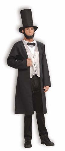 Abe Lincoln Costume - Standard - Chest Size 38-42