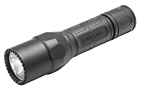 SureFire G2X Pro 6-Volt Led Dual Stage Click Style Flashlight, Black