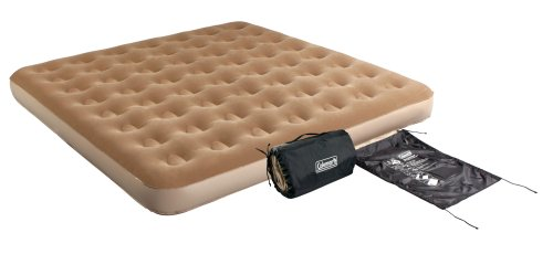 Coleman King-Sized Quickbed with 4D Pump and Wrap 'N' Roll Storage (Coleman Air Mattress King compare prices)