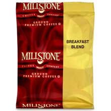Millstone Coffee Breakfast Blend, 1.75-Ounce Boxes (Pack Of 40)