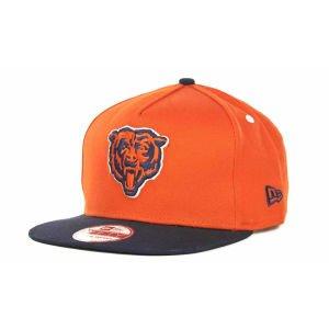 New Era NFL 9Fifty Turnover Snapback 2 Tone Cap Chicago Bears (Orange/Navy, OSFM)
