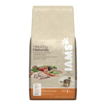 Image of Iams Healthy Naturals with Natural Chicken Cat Food Dry