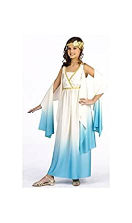 Amazon.com: Greek Goddess Costume - Child Costume - Large ...