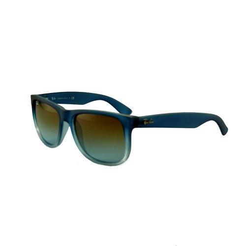 Ray Ban Justin RB4165-8535D Rubber Gradient Blue Transparent