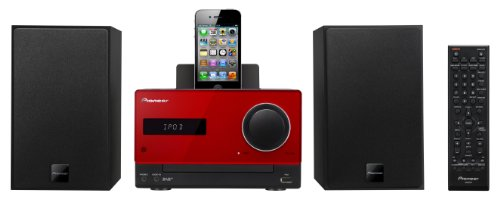Pioneer X-CM31DAB-R 2x 15W Micro Sound System - Red Black Friday & Cyber Monday 2014