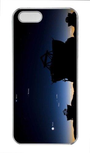 Customized Cases For Iphone 5S Pc Transparent Case Telescope