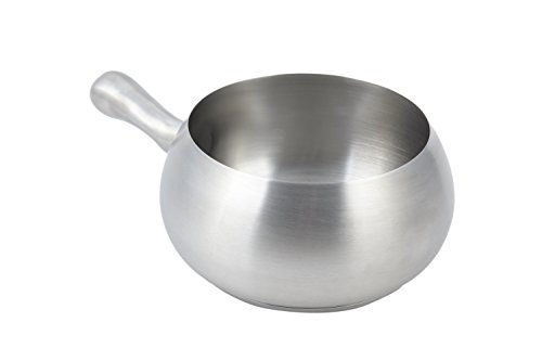 Bon Chef 5050SS Stainless Steel Induction Fondue Pot with Induction Bottom, 2-1/8 quart Capacity, 6
