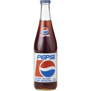 Mexican Pepsi Cola 12-12oz (355ml) Glass Bottles Mexico