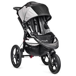 Baby Jogger Summit X3 Single Stroller, Black Gray by BaJogger