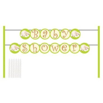 Lamb Baby Shower Cake Banner Kit