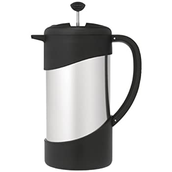 The time-honored European method of making coffee is now more efficient, convenient and delicious than ever. This 34-oz. vacuum insulated coffee press from Thermos Nissan keeps your pressed coffee at the just the right temperature three times longer ...