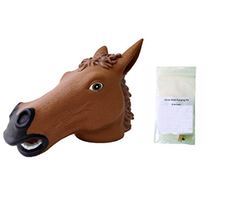 Horse Head Squirrel Feeder And Hanging Kit front-240919