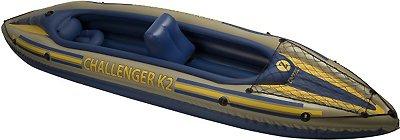 Cheap NEW INTEX 2 Person Challenger K2 Inflatable Kayak+Pump (B005BYT31M)