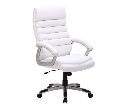 Brostuhl-Drehstuhl-Chefsessel-Schreibtisch-Stuhl-Brosessel-Design-Leder-Wei