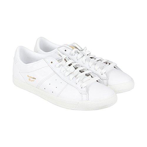 Onitsuka Tiger Lawnship Classic Tennis Shoe,White/White,7.5 M US Men's/9 W US Women's