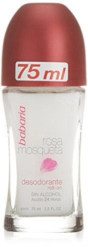 Babaria Deodorante, Rosa Mosqueta Deo Roll-On, 75 ml