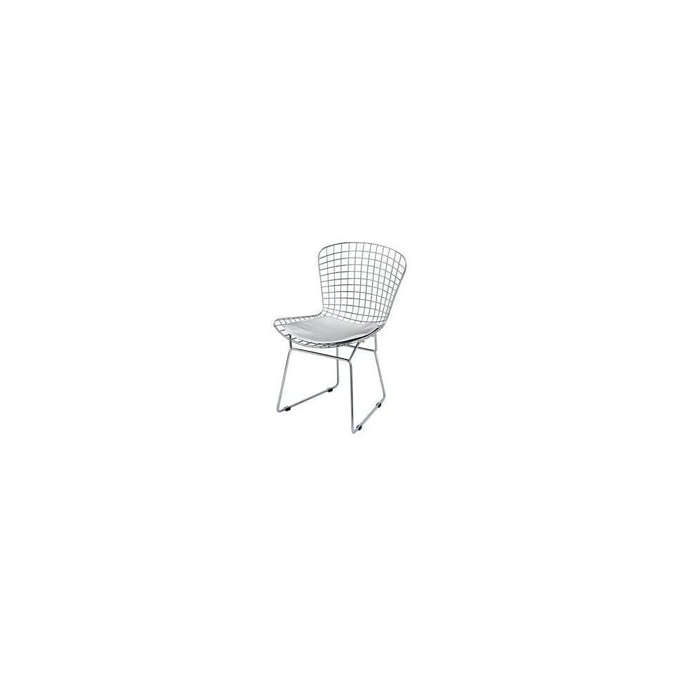 Nuevo Living   Wire Dining or Accent Chair   Chrome w