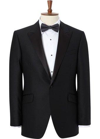 Austin Reed Contemporary Fit Peak Lapel Dress Jacket SHORT MENS 42
