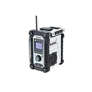 マキタ 充電式ラジオ MR102W 白 バッテリ・充電器別売