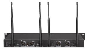 GTD Audio G-787H UHF Diversity Wireless Microphone System by GTD Audio