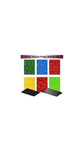 Texturz Starter Kit #5 (Sizzix Texture Starter Kit compare prices)
