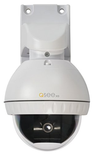 Q-See QD7015P Speed Dome Pan-Tilt Camera with 3x Optical Zoom (white)