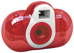 Cobra Digital Squeezable Kids Camera, Red DC150-RD