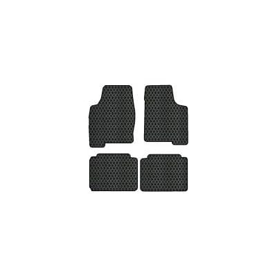 Nylon Carpet Black Coverking Custom Fit Rear Floor Mats for Select Bronco Models