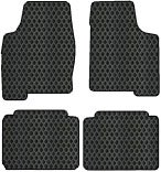 Volvo S40 Custom-Fit All-Weather Rubber Floor Mats 4 Pc Set - Split Production Year Fits New Body Style Only - Black (2004 04 ) AMSN654435211||8019I9NX