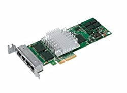 Intel EXPI9404PTL PRO/1000 PT Quad Port Low Profile Server Adapter, Retail