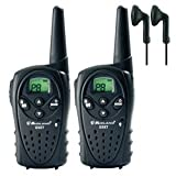 12Km Midland G5 XT Long Range Two Way PMR 446 Licence Free Radio + 2 x Comtech CM-50PT Headsets