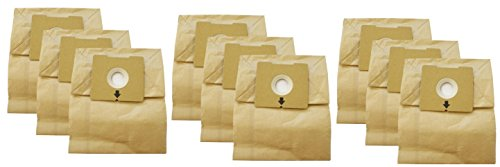 Bissell Dust Bag (3) 3pks 4122 Series #2138425 (9 total bags) (Bagged Vacuum Bissell compare prices)