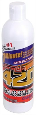 FORMULA 420 PIPE CLEANER - GLASS METAL CERAMIC CLEANSER 12OZ